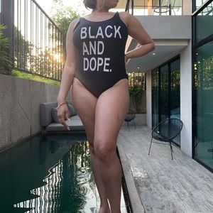 Other - Black & dope swimsuit